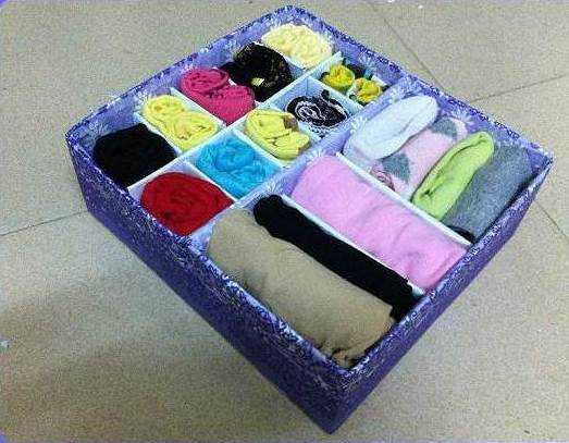 Diy Cardboard Underwear Storage Box