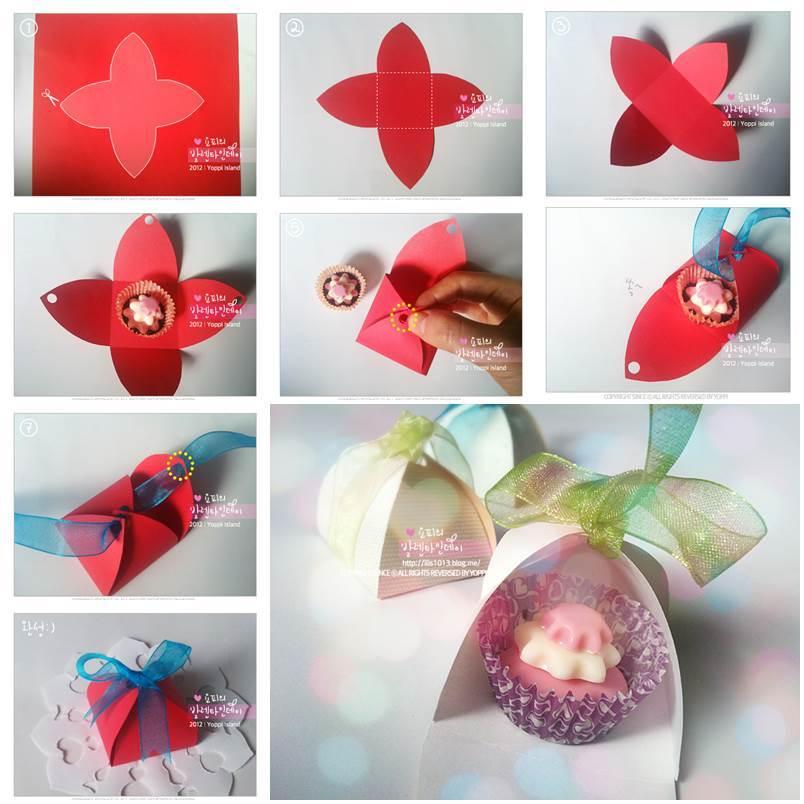 DIY Valentine's Day Chocolate Box