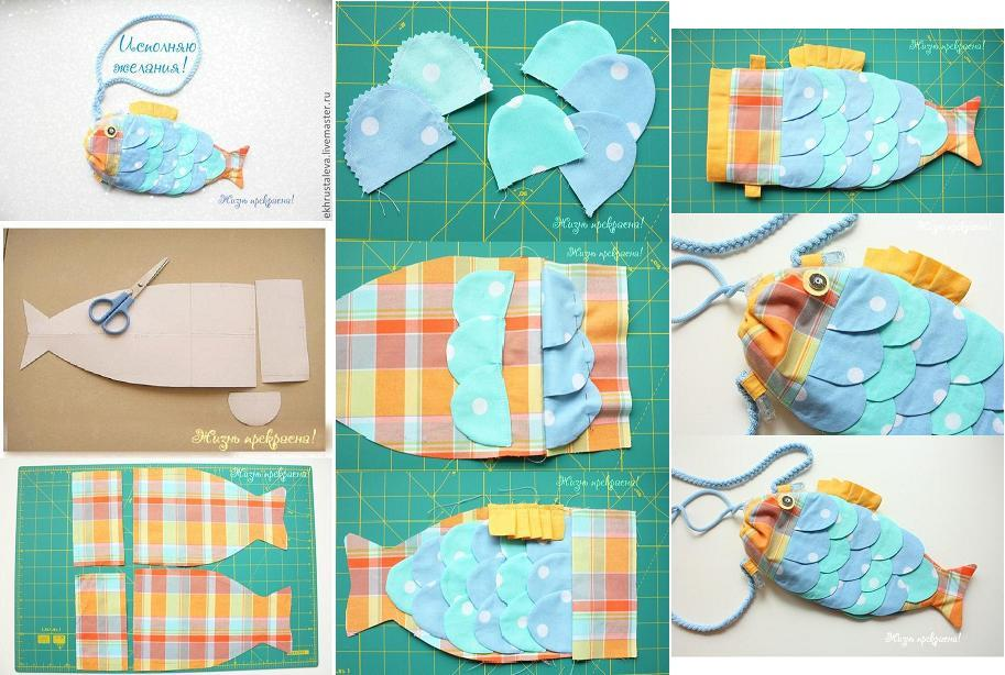 DIY Cute Fish Handbag for Kids 1
