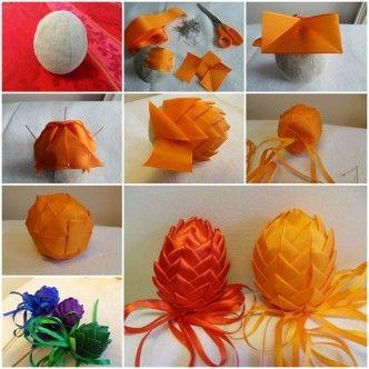 DIY Easter Egg Decoration Artichoke 1