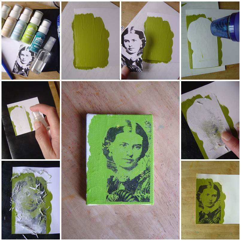 Creative Ideas - DIY How to Transfer Images to Wood