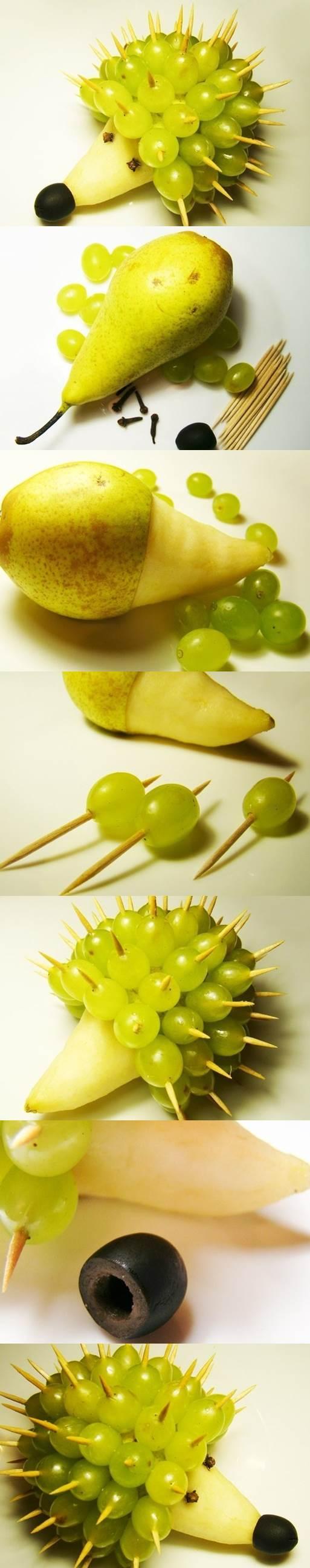Food Art DIY - Hedgehog