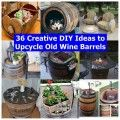36 Creative DIY Ideas to Upcycle Old Wine Barrels thumb