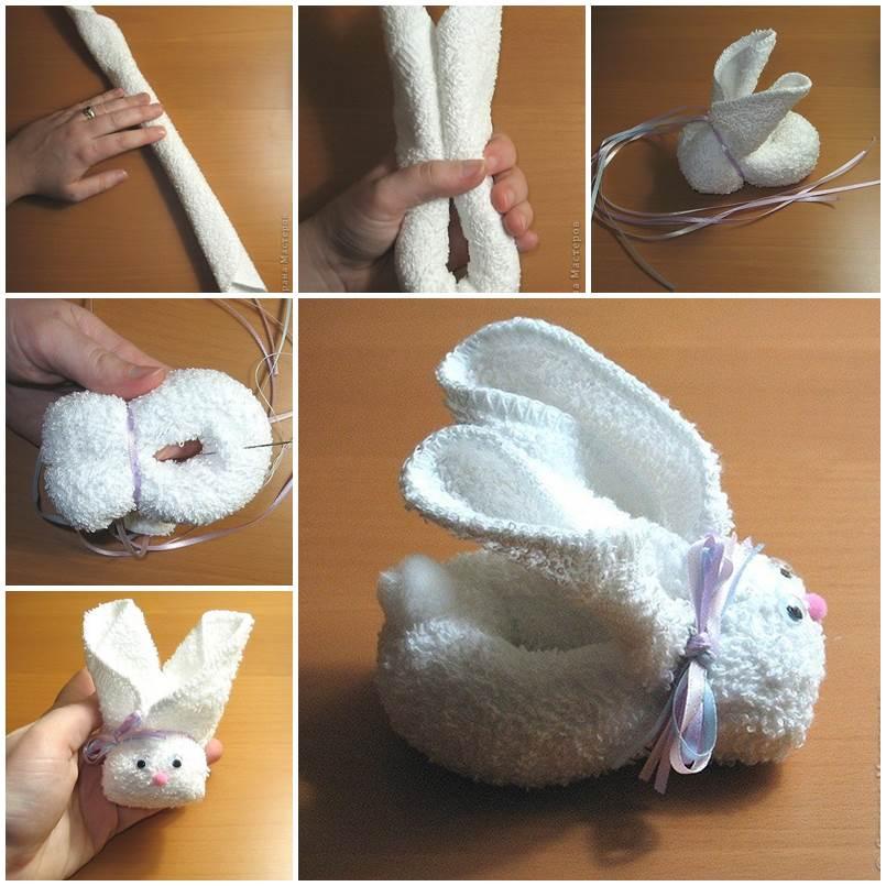 How To Fold Bunny Napkin DIY Tutorial
