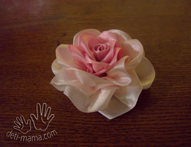 Diy Beautiful Satin Ribbon Rosette Icreativeideas Com