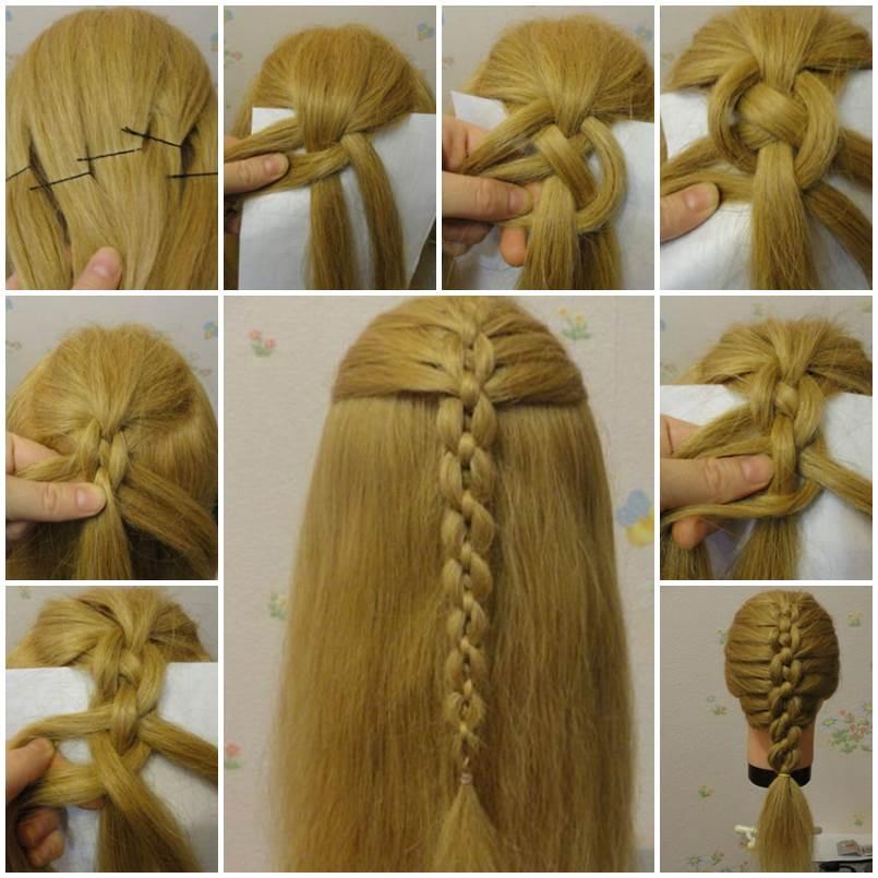 Sensational Diy Braided Chain Pigtail Hairstyle Short Hairstyles Gunalazisus