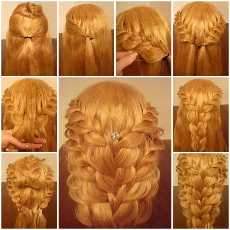 Incredible Diy Delicate Braided Hairstyle Hairstyles For Women Draintrainus