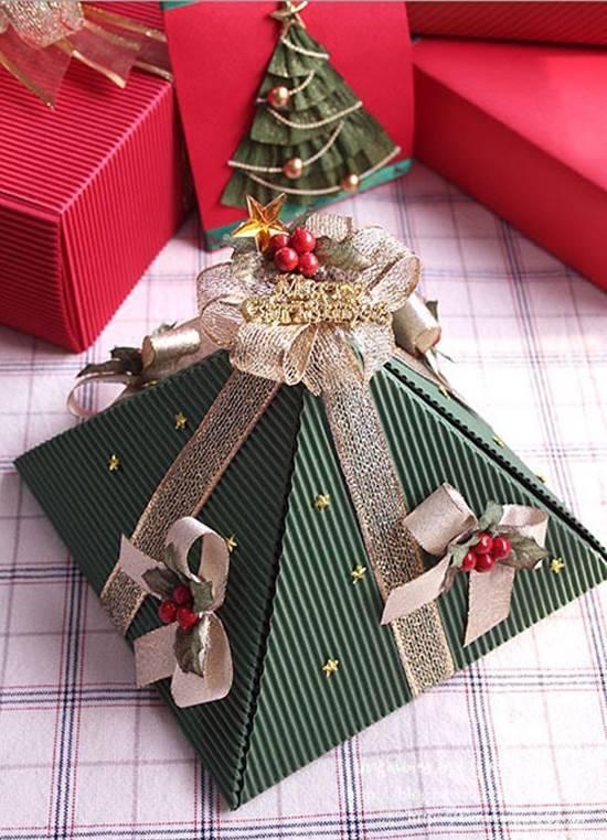 diy pyramid gift box
