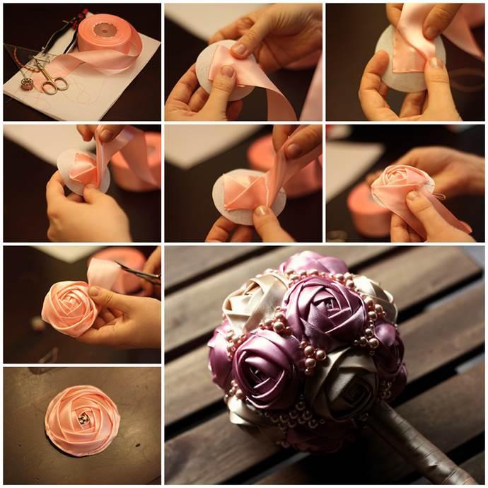 Букет роз своими руками поэтапно
