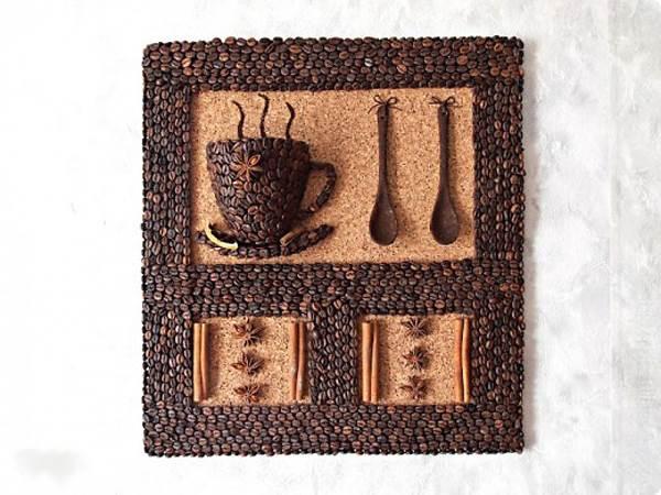 Панно кофейная чашка мастер класс