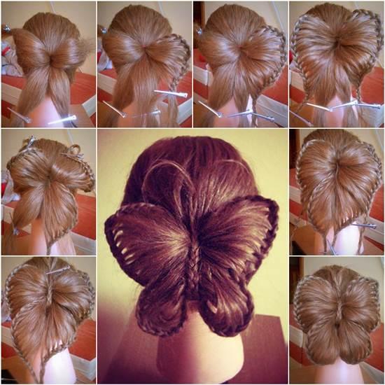 Diy Braided Hairstyles: DIY Heart Shaped Crown Braided Hairstyle