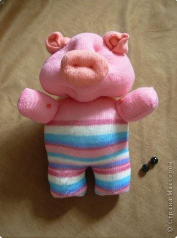 How To Diy Cute Sock Piglet Icreativeideas Com