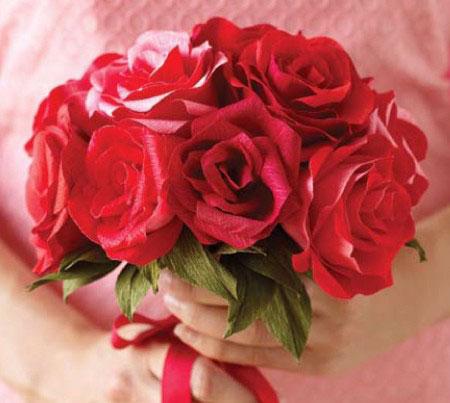 How To Diy Easy Crepe Paper Rose Icreativeideas Com