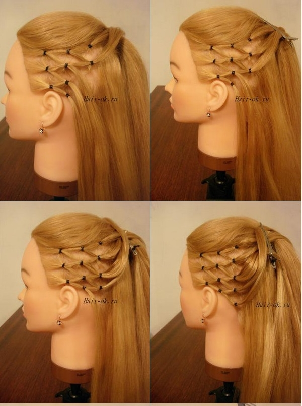 Enjoyable How To Diy High Ponytail With Side Mesh Hairstyle Short Hairstyles Gunalazisus