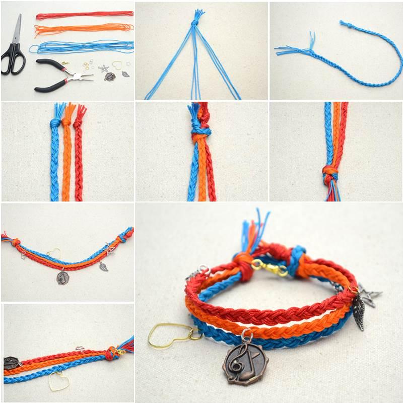 How to DIY Multi-Strand Macrame Friendship Bracelet