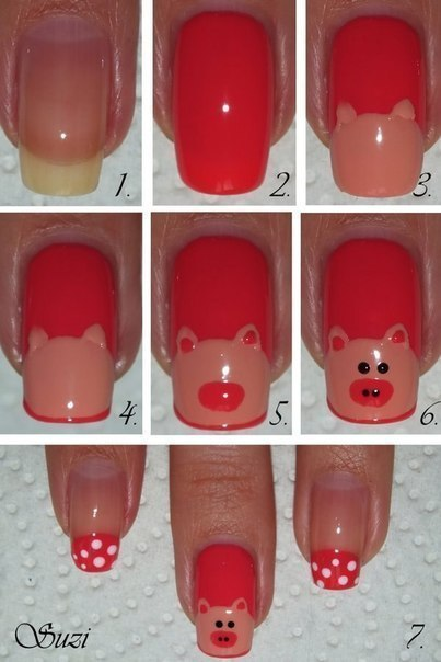 How To Do Funny Animal Themed Nail Art Icreativeideas Com