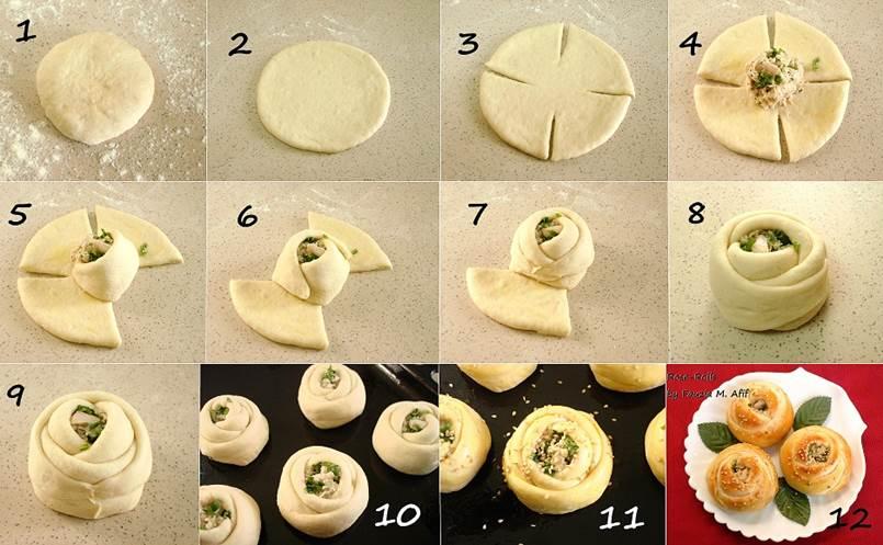 Как форму пирожков сделать