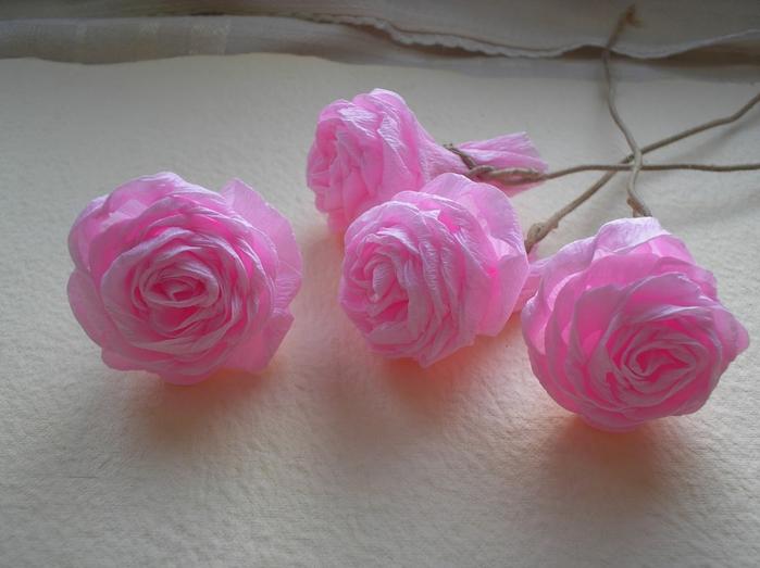 How To Make Unique Crepe Paper Flowers Icreativeideas Com