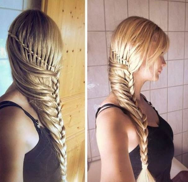 Stupendous How To Make Stylish Side Braid Hairstyle Hairstyles For Women Draintrainus