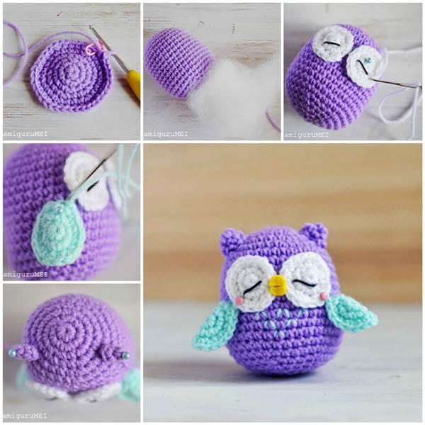 Crochet Amigurumi Ideas : Creative Ideas - DIY Adorable Crochet Amigurumi Bunny ...