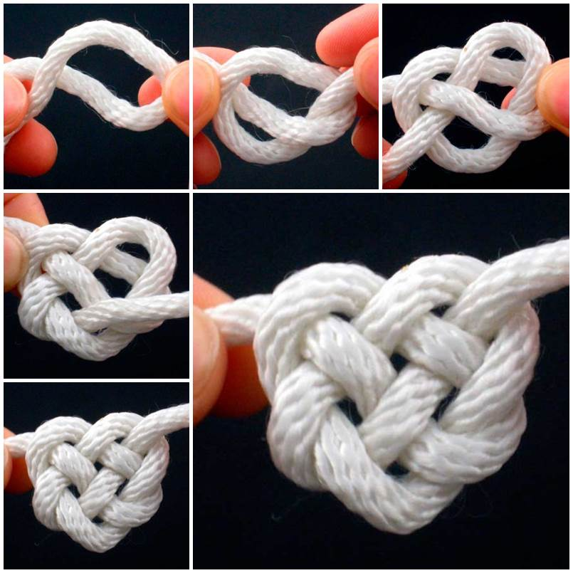 How To Tie Celtic Heart Knot