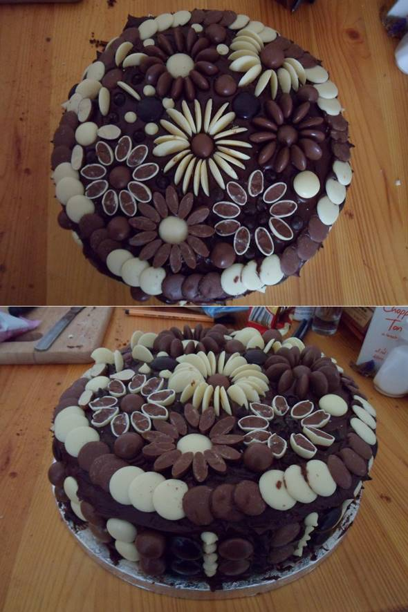 Chocolate Button Cake Recipe