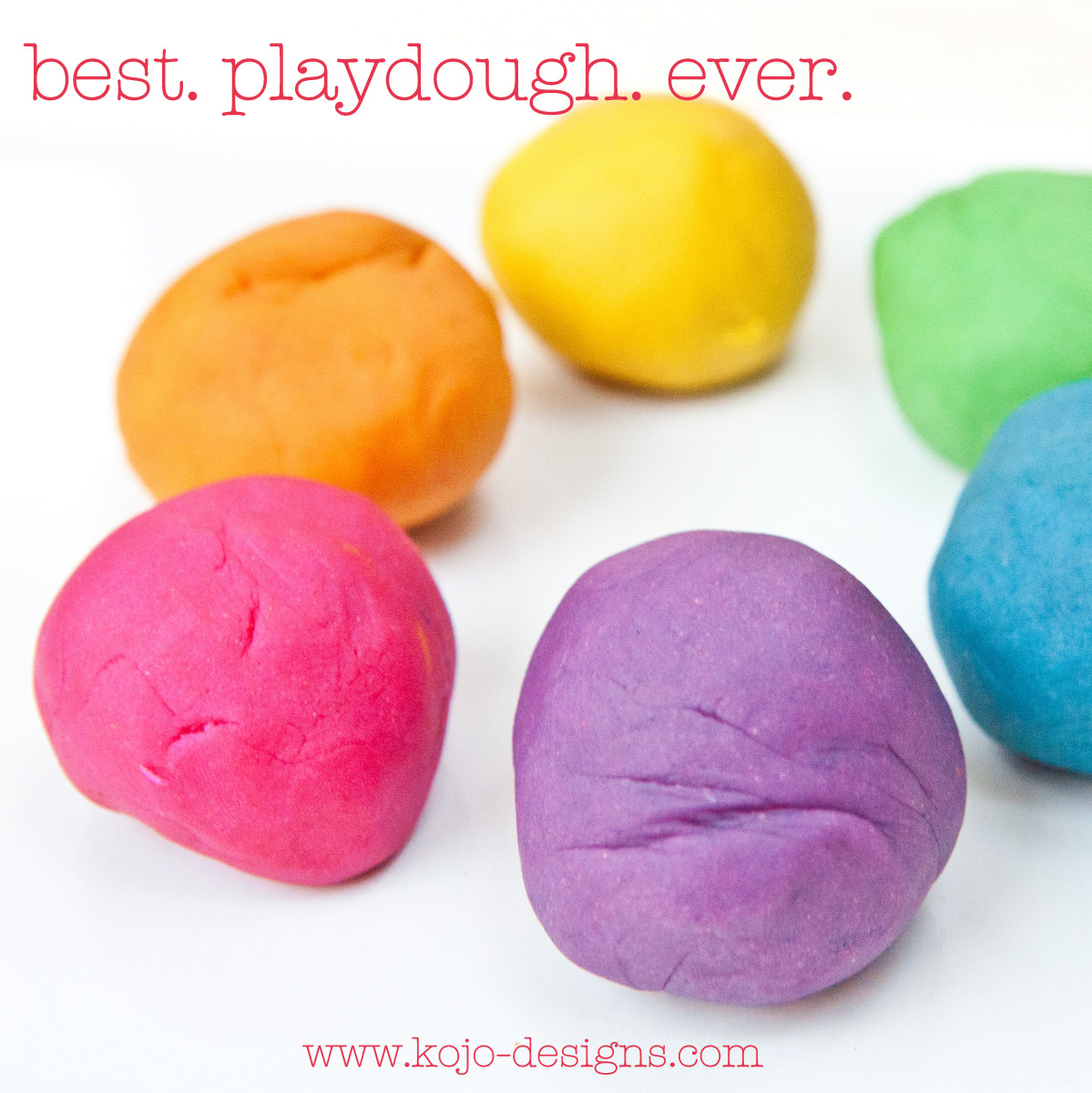 Make Colorful Playdough