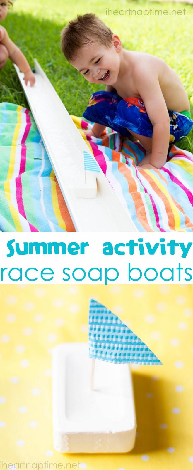 Soap Boat Race