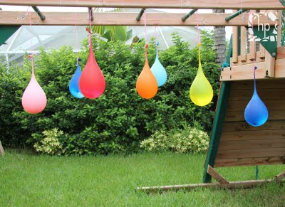 35+ Fun Activities for Kids to Do This Summer --> Water Balloon Pinata