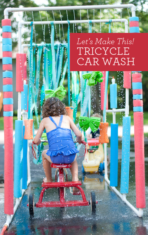Tricycle Car Wash