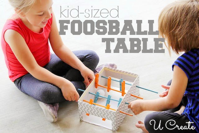 DIY Mini Foosball Table