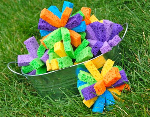 35+ Fun Activities for Kids to Do This Summer --> Sponge Bombs
