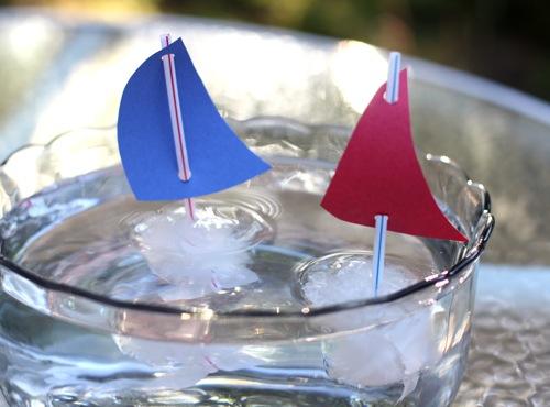 Ice Cube Boats
