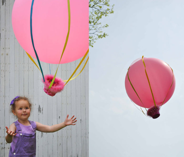 35+ Fun Activities for Kids to Do This Summer --> Hot Air Balloon