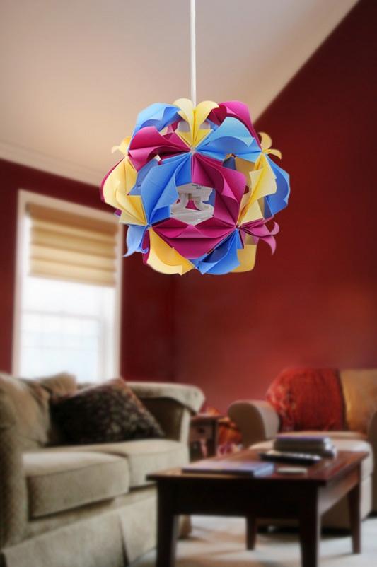 How To Diy Beautiful Origami Paper Lantern