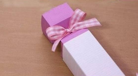 How To Diy Candy Shaped Gift Box Icreativeideas Com