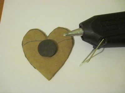 How to DIY Coffee Bean Fridge Magnet Step 2