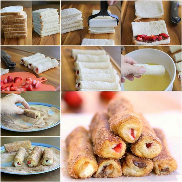 How To Diy Delicious French Toast Roll Up