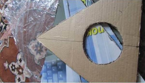 How To Diy Easy Cardboard Cat Tent