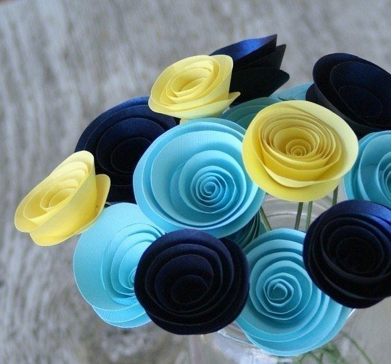 How To Diy Easy Swirly Paper Flower Icreativeideas Com