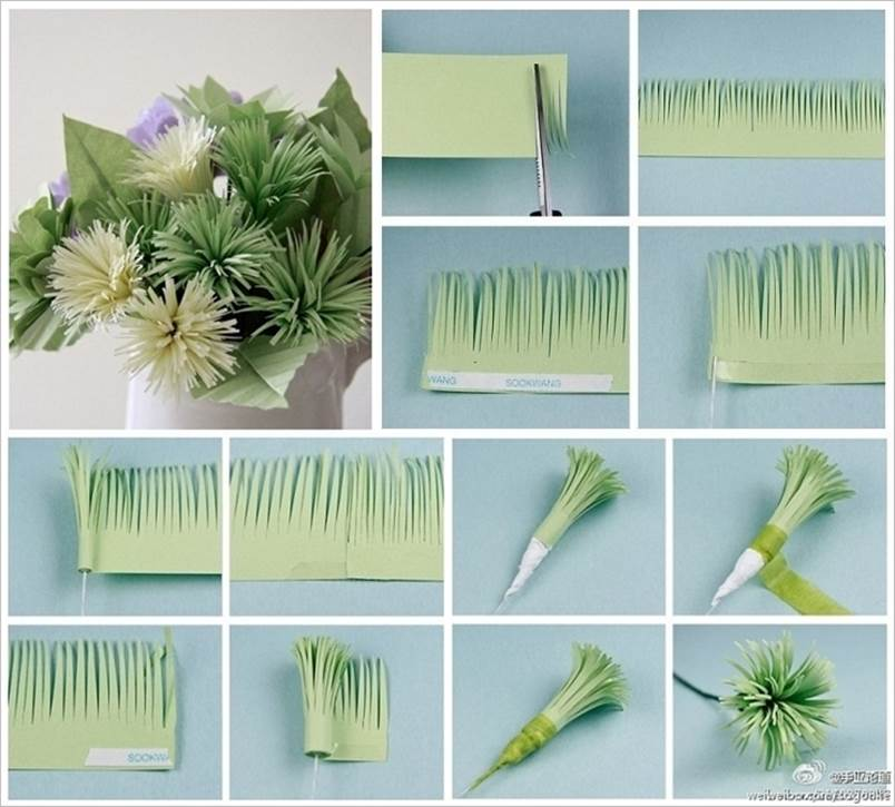 How to diy easy and beautiful paper flowers for Waste paper craft for kids
