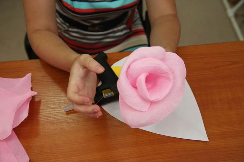 Мастер класс как сделать цветок из бумаги