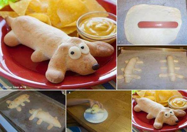 How to DIY Hot Dog In A Dog Bread