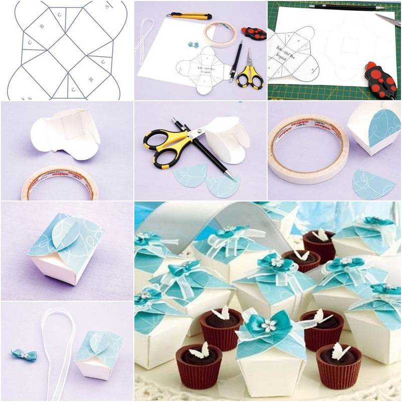How to make beautiful chocolate gift packing easily for How to make easy gifts