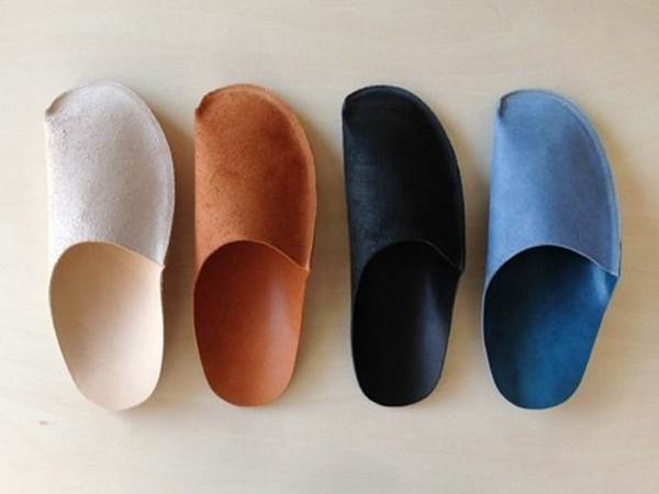 How to diy simple pattern home slippers for Minimalist house slippers