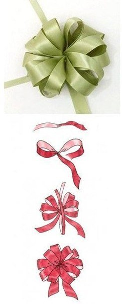 How To Tie A Diy Ribbon Bow For Gift Packaging