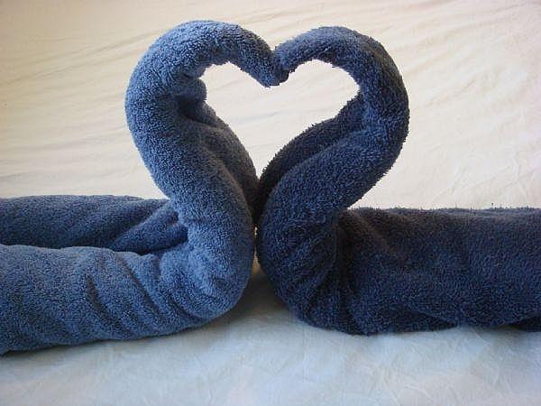 How To Diy Towel Swan