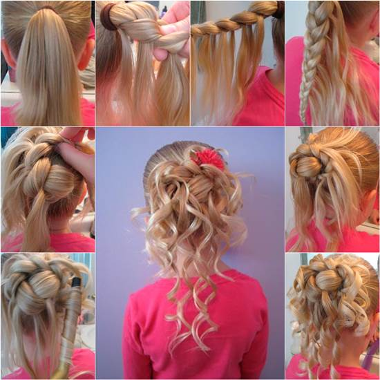 How To Make Cute Hairstyle For Girls DIY Tutorial