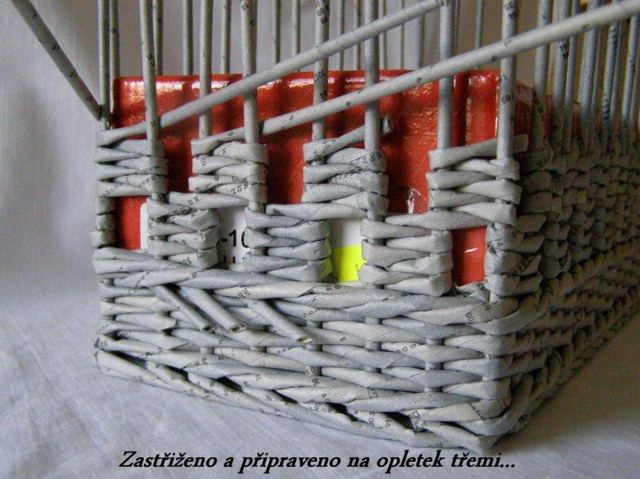 How To Weave A Basket Diy : How to weave a unique diy storage basket from old