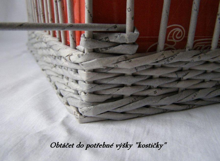 How To Weave A Basket From Old Newspaper : How to weave a unique diy storage basket from old newspaper